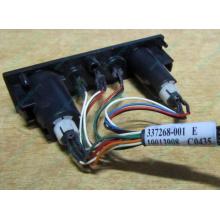 HP 224998-001 в Новокузнецке, кнопка включения питания HP 224998-001 с кабелем для сервера HP ML370 G4 (Новокузнецк)
