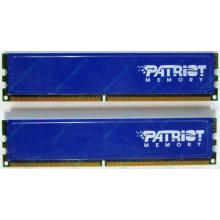 Память 1Gb (2x512Mb) DDR2 Patriot PSD251253381H pc4200 533MHz (Новокузнецк)