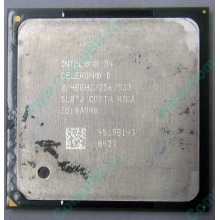 Процессор Intel Celeron D (2.4GHz /256kb /533MHz) SL87J s.478 (Новокузнецк)