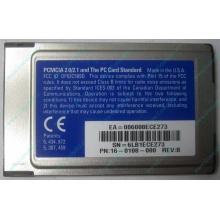 Сетевая карта 3COM Etherlink III 3C589D-TP (PCMCIA) без LAN кабеля (без хвоста) - Новокузнецк